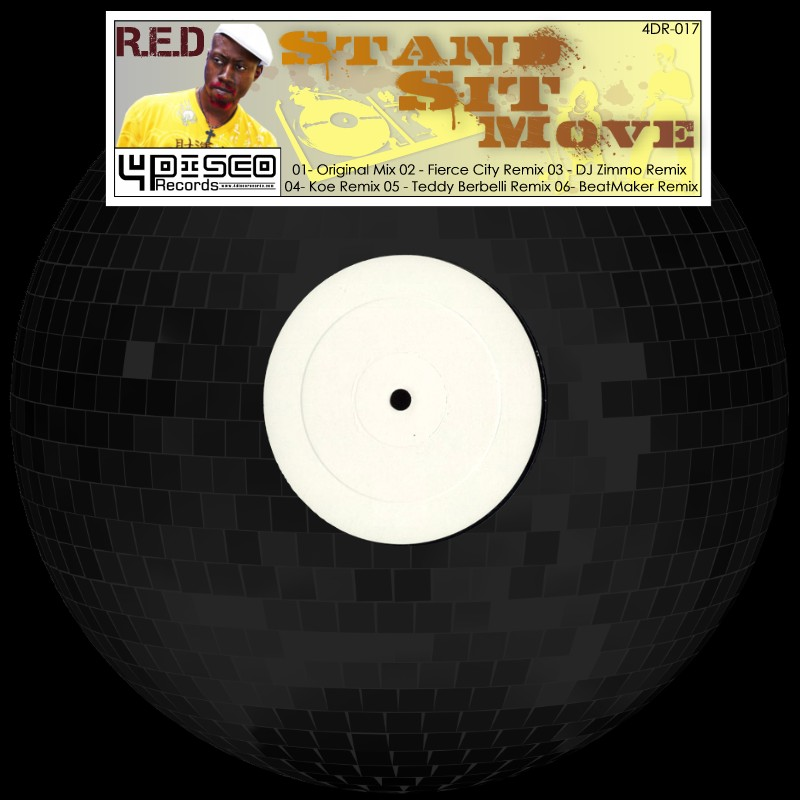 4DR017 - R.E.D. - STAND, SIT MOVE OUT NOW!